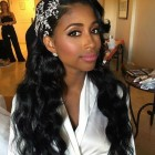 Bridesmaid hairstyles black hair