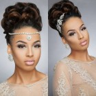 Bridesmaid hairstyles for black hair