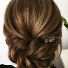 Bridesmaid updos for medium length hair