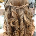 Curls for prom hair