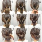 Easy bridesmaid hair