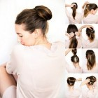 Easy high updos
