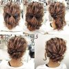 Easy updos for layered hair