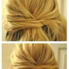 Easy updos for medium layered hair
