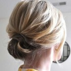 Easy updos for short length hair
