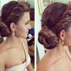 Elegant upstyles for long hair
