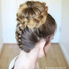 Formal bun updo