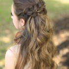 Girls prom hair