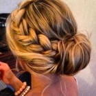 Going out updo styles
