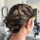 Grad updos for long hair