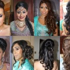 Hair setting for wedding