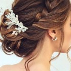 Hair style for the bride