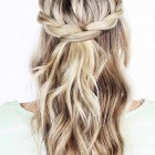 Hairdos for wedding bridesmaids