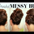 High updos for medium hair
