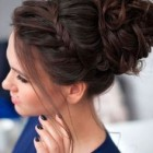 High updos for prom