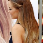 Long straight hairstyles for prom