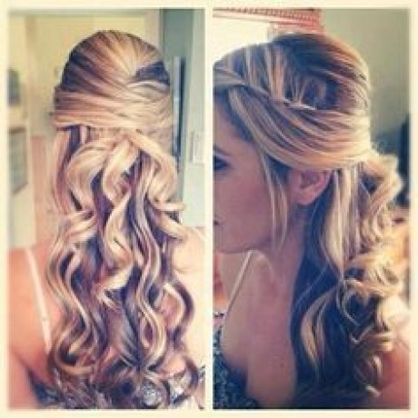 Matric hairstyles for long hair