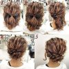 Medium short hair updos