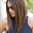 Modern long hairstyles