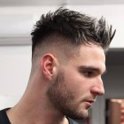 New mens haircut