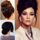 Party updo hairstyles for long hair
