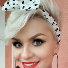 Pin up short hair