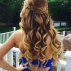 Popular prom hairstyles 2018