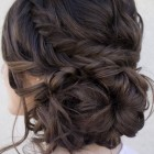 Prom hair due