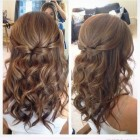Prom hair for medium length hair