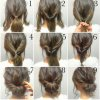 Quick easy hair updos