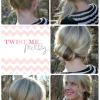 Quick easy updos for medium hair