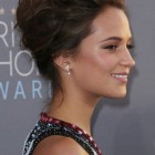 Red carpet hairstyles updos
