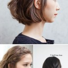 Short hair simple style