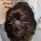 Simple elegant hair updos