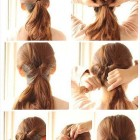 Simple elegant hairdos