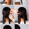 Simple updo styles