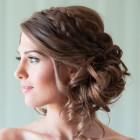 Soft updo hairstyles