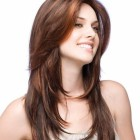 Stylish haircut for long hair
