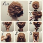 Super easy hair updos