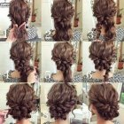 Updo hairstyles for medium layered hair