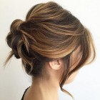 Upstyles for mid length hair