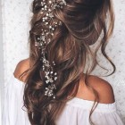 Wedding headpieces for long hair