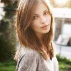 Below shoulder length haircuts