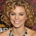 Curly hair shoulder length hairstyles