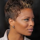 Curly short hairstyles for black women
