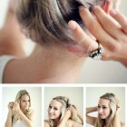 Easy summer hairdos
