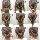 Hairdo ideas for shoulder length hair