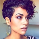 Latest black short hairstyles