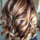Medium length hair color