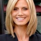 Medium length hairstyles no bangs